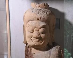 兵庫県市川町・笠形寺の木造不動明王坐像