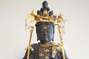 愛知県大治町・慈雲寺 松葉観音 木造十一面観音菩薩立像